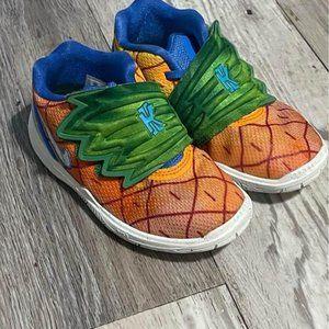 Nike Kyrie 5 Spongebob Pineapple House Orange
